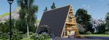 Caseta de madera TIPI, 4.5x7 m, 23 m² visualization 7