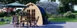 Caseta de jardín de madera BRETA (28 mm), 3x3 m, 9 m² visualization 6