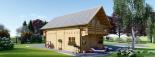 La casa LANGON 44+44 mm, 107m² visualization 5