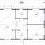 Casa de madera GRETA 44+44 mm, 54 m² specification 1