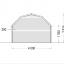 Caseta de madera ORLANDO (34 mm), 4x4 m, 16 m² specification 3