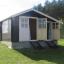 Caseta de madera para jardín BENINGTON (34 mm), 4,5x3 m, 13 m² customer 1