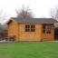 Caseta de jardín OSLO 19.5 m² 34 mm customer 2