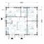 Casa de madera para vivir ALICE (44+44 mm, aislada PLUS), 72 m² specification 1