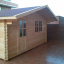 Caseta de jardín DREUX 19.9 m² (5x4) 44 mm customer 1