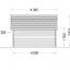Caseta de madera ORLANDO (34 mm), 4x4 m, 16 m² specification 4