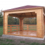 Cenador de madera 16 m² (4x4) 44 mm customer 1