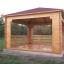 Cenador de madera (44 mm), 4x4 m, 16 m² customer 1