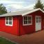 Cabaña de madera para jardín LILLE 25 m² (34 mm), 5x5 m, 25 m² customer 1