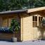 Caseta de jardín RENNES 12 m² (4x3) 34 mm visualization 1