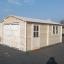 Garaje de madera (44 mm), 4x6 m, 24 m² customer 2