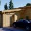La casa BERTA de tejado plano 105 m² 66 mm visualization 1