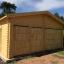 Garaje de madera 600x900 44 mm 54 m² customer 1