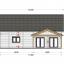Casa de madera para vivir VERA (44+44 mm, aislada PLUS), 132 m² specification 7