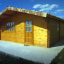 Cabaña de madera para jardín DREUX (44 mm), 5x5 m, 25 m² customer 2