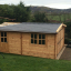 Garaje de madera (44 mm), 4x6 m, 24 m² customer 1