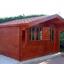 Caseta de madera DREUX (44 mm), 4x4 m, 16 m² customer 1