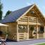 Casa de madera para jardín LIVINGTON 44 mm, 50 m² visualization 1