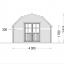 Caseta de madera ORLANDO (34 mm), 4x4 m, 16 m² specification 2