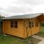 Caseta de madera LILLE (34 mm), 5x4 m, 20 m² customer 2