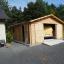 Garaje de madera 600x600 44 mm, 36 m² customer 1