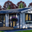 Casa de madera AGNES (44+44 mm), 75 m² visualization 1