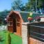 Caseta de jardín ORLANDO 9 m² (3x3) 34 mm customer 2