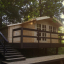 Caseta de jardín WISSOUS 12 m² (4x3) 34 mm customer 2