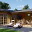 Casa de madera + Garaje BERTA 105 m² 44+44 mm visualization 1
