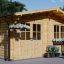 Caseta de madera para jardín LILLE (44 mm), 5x4 m, 20 m² visualization 1