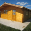 Caseta de madera para jardín DREUX (66 mm), 4x4 m, 16 m² customer 3