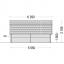 Garaje de madera TEXAS (44 mm), 6x6 m, 36 m² specification 5
