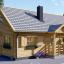 La casa EMMA 44+44 mm, 46 m² + piso visualization 1