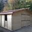 Garaje de madera 600x600 44 mm, 36 m² customer 3