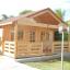 Caseta de madera habitable ANGERS (44+44 mm, aislada PLUS), 36 m² customer 1
