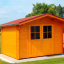 Caseta de jardín de madera PETER (34 mm), 3x3 m, 9 m² customer 2