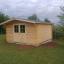 Caseta de madera para jardín PALMA (34 mm), 4x4 m, 16 m² customer 3