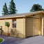 Garaje de madera 600x900 44 mm 54 m² visualization 1