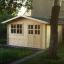 Caseta de jardin LILLE 12 m² (4x3) 34 mm customer 1