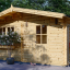 Caseta de jardin DREUX 25 m² (5x5) 44 mm visualization 1