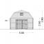 Garaje de madera MISSISSIPPI (44 mm), 5x6 m, 30 m² specification 2