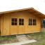 Cabaña de madera para jardín LILLE 25 m² (34 mm), 5x5 m, 25 m² customer 2