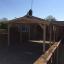 Cochera de madera CLASSIC, 3x6 m, 18 m² customer 1