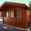 Caseta de madera para jardín DREUX (66 mm), 4x4 m, 16 m² customer 2