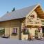 La casa LANGON 44+44 mm, 107m² visualization 1