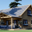 Casa de madera para vivir VERA (44+44 mm, aislada), 132 m² visualization 1