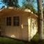 Caseta de jardín de madera PETER (34 mm), 3x3 m, 9 m² customer 1