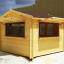 Chiringuito de madera (44 mm), 4x4 m, 16 m² customer 1