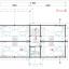 Casa de madera para vivir VERA (44+44 mm, aislada PLUS), 132 m² specification 4