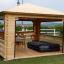 Cenador de madera 9 m² (3x3) 44 mm customer 1